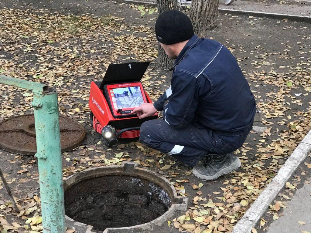 Обследование канализации видеокамерой: цена в Москве и Московской области