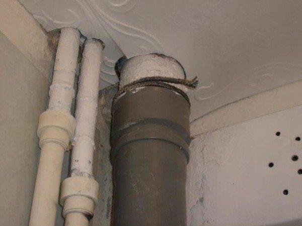 Инженерная экспертиза стояка канализации